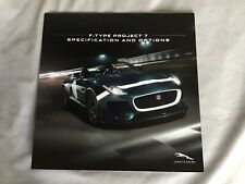 Jaguar F-type Project 7 Specification And Options Brochure