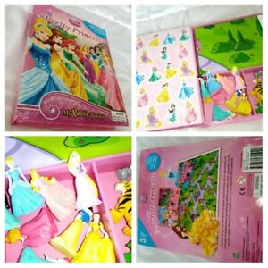 My Busy Book-pretty princess, disney, princess figures, play mat