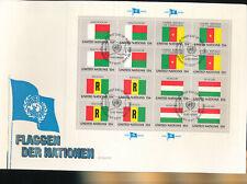 585331 / UNO FLAGGEN FDC