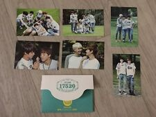 BTS 2nd Muster Official Mini Photo Card Zip Code 17520 - Group cut full set