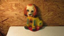 Old Carnival Chalkware Dog