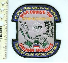 Military  Patch  USN 1999 Noble Anvil Task Force Cruise