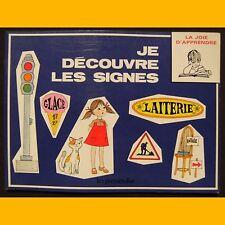 Collection La Joie d'Apprendre JE DÉCOUVRE LES SIGNES S. Reit 1972