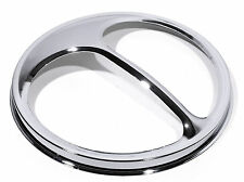 "Faros diafragma accesorio cubierta cromo CatEye 7"" para Harley suzuki honda HD"