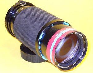 Soligor 80-200mm ZOOM+MACRO lens in good working order for Minolta M