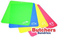 4er Set Antibakterielles Farbcodierter Flexibel Schneiden/Schneidebrett / Matten
