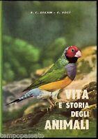 VITA E STORIA DEGLI ANIMALI. Volume II: Uccelli, pesci, insetti... - BREHM, VOGT
