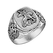NEU Ring, Silberring, Herrenring aus 925er Silber -Георгий Победоносец-