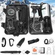 13in1 Kit Sopravvivenza SOS Militare Professionale emergenza Trekking Escursioni