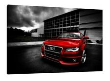 Audi S3 - 30x20 Inch Canvas - Framed Picture Rally Print Art