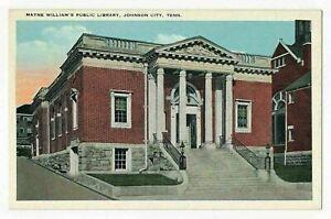 Mayne Williams Public Library, Johnson City, Tennessee ca.1920