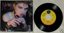 MADONNA ~ BORDERLINE /  VINYL 45 RPM + DUAL SIDED POSTER ~ RARE PROMO