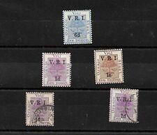 Orange Free State, British Occupation VRI optd selection mint & used (7367)