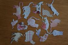 LOTTO Misto 25 Cat DIE-cut/Cut Out. VARI Colori/Taglie/razze. carta & CARD