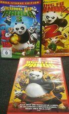 Kung Fu Panda Teil 1+2+3 -  3 Dvd´s