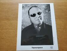 VAPOURSPACE Mark Gage 8x10 BLACK & WHITE Press Photo 90's TECHNO AMBIENT