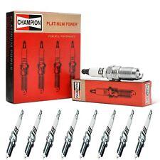 8 Champion Platinum Spark Plugs Set for 2007 GMC SIERRA 1500 CLASSIC V8-5.3L