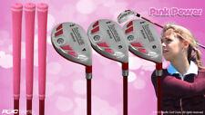Petite Women's iDrive Golf Clubs Pink Hybrid (4-6) Partial Set Lady Flex Clubs