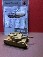 Axis & Allies Base set #: 38/48 Panzer IV Ausf. G