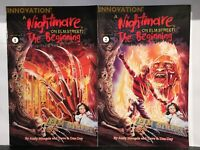 Nightmare on Elm Street the Beginning #1-2 Set F/VF 1st Print Innovation Comics