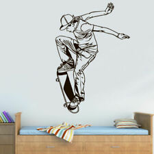 Wall Vinyl Sticker Decal Skate Skateboard Rampa Roller Skaters Street (Z3077)