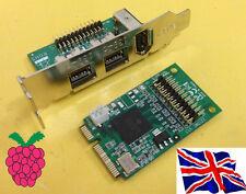 Mini PCI-E PCI Express 1394a 1394B FIREWIRE SCHEDA 1394