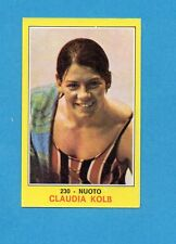 CAMPIONI dello SPORT 1970-71-Figurina n.230- KOLB - NUOTO -NEW
