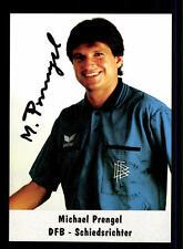 Michael Prengel Autogrammkarte DFB Schiedsrichter Original Signiert+A 125687