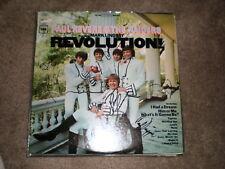 Paul Revere & The Raiders LP Revolution AUTOGRAPHED