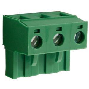 4 x CamBlock Plus CTBP9400/3 7.5mm Female Pluggable Term/Block Horiz 3 Pole