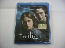 TWILIGHT - BLU RAY NEW SEALED - KRISTEN STEWART - ROBERT PATTINSON - EX EDICOLA