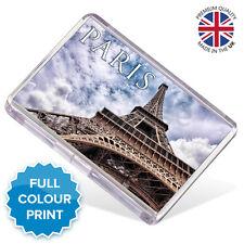 Paris Eiffel Tower France Souvenir Photo Gift Fridge Magnet | Large Size