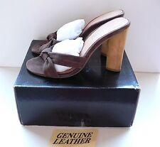 Colin Stuart for Victoria's Secret Suede Leather Sandals 7,5