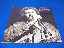 Gordon Lightfoot - Dream Street Rose - 1980 Rock LP w/Org Sleeve Nice! VG+ VINYL