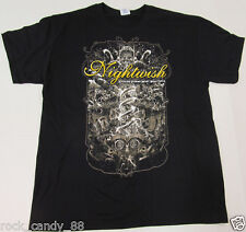 NIGHTWISH T-shirt House Of Blues Las Vegas 2015 Tour Tee Adult LARGE Black New