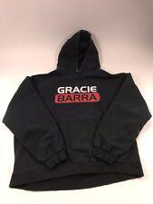Gracie Barra Ju Jitsu Hoddie- Black