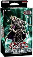 YuGiOh cards Spellcaster's Command Structure Deck Rule Book Contains 40