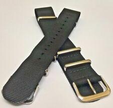Military Dirty Dozen Watch Strap Nylon 22mm Nos black