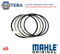 6x ENGINE PISTON RING SET MAHLE ORIGINAL 083 06 N0 I NEW OE REPLACEMENT