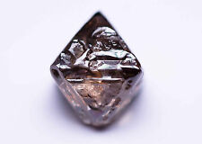 3.96 CARAT NATURAL ROUGH DIAMOND GEM COGNAC OCTAHEDRON ARGYLE AUSTRALIA CRYSTAL