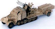 Milicast G198 1/76 Resin WWII Armoured SdKfz7/1 Halftrack w/20mm Flakvierling