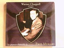 RARE CD PROMO / LES GRANDES CHANSONS DE PAUL MISRAKI / NEUF SOUS CELLO