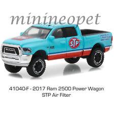 GREENLIGHT 41040 F 2017 DODGE RAM 2500 POWER WAGON PICK UP TRUCK STP 1/64 BLUE