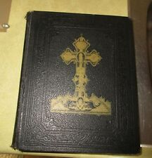 1938 Douay Holy Bible By the Ven. Challoner - Signed by Archbishop