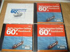 Radio Caroline Calling 60's Flashback (2001) 3 cd Box set 55 tracks cds Excellen