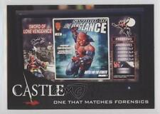 2014 Cryptozoic Castle Seasons 3 & 4 #35 One That Matches Forensics Card 1m8
