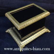 Petite Boite / Coffret Noir et Bronze Boulle Epoque Napoléon III