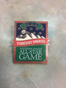 2001 Tennessee Smokies Southern League All Star Game Collectible Baseball Pin!