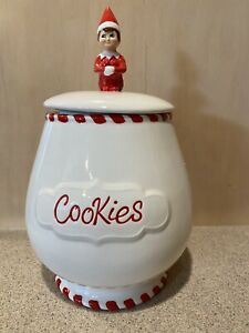 The Elf on The Shelf Christmas Cookie Jar Original, New In Box.