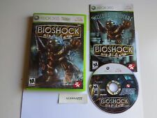 BioShock (Microsoft Xbox 360, 2007) First Edition. Adult Owned.